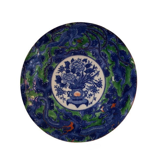 Ceramic Antique Early Chinese Plate For Sale - Image 7 of 7