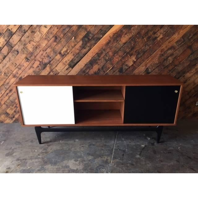 Mid Century Style Custom Credenza For Sale - Image 5 of 5