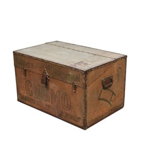 Cremo Metal Cigar Trunk/Humidor For Sale
