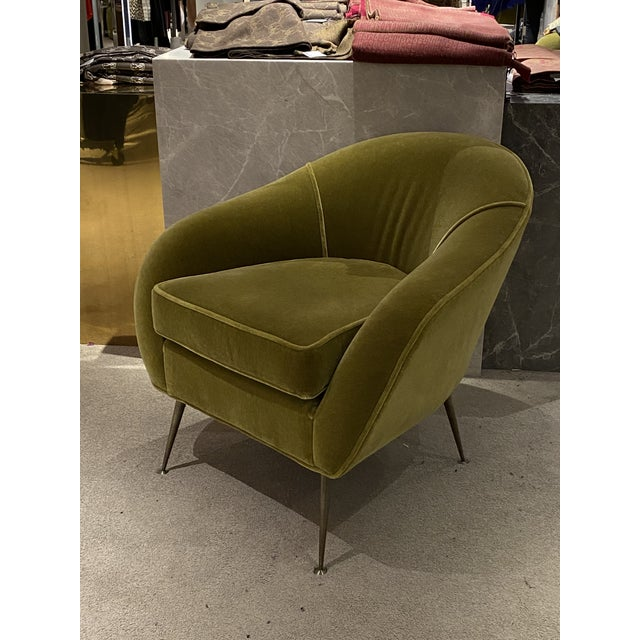 Mid Century Chair With Mohair Upholstery For Sale In Palm Springs - Image 6 of 6