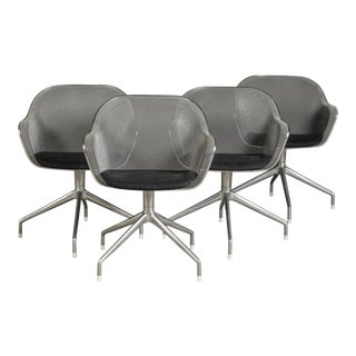 Set of 4 Luta Chairs by Antonio Citterio for B&B Italia For Sale