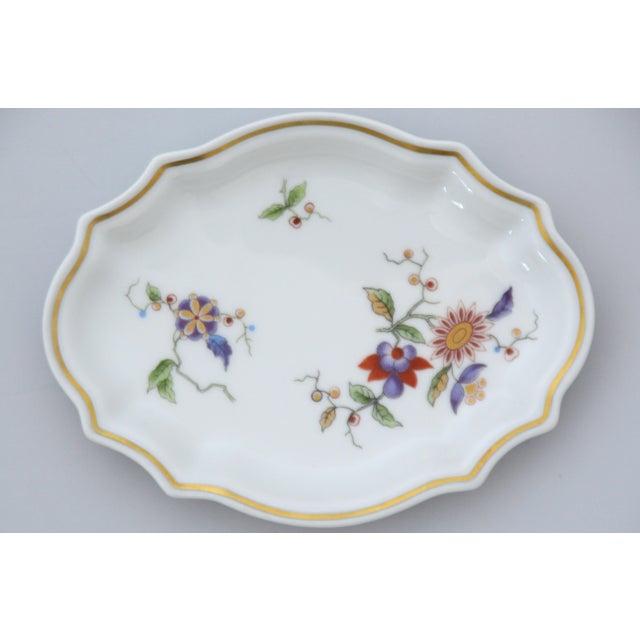 Ceramic Richard Ginori Oriente Italian Porcelain Soap Dish For Sale - Image 7 of 7