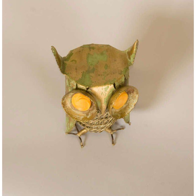1960s Curtis Jere Inspired Owl Sculpture For Sale - Image 5 of 7