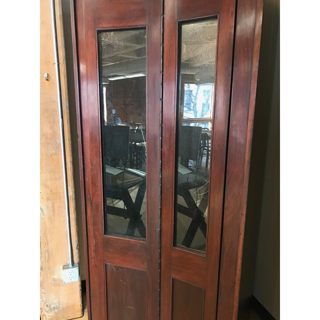 Vintage Wooden Stand Alone Phone Booth For Sale - Image 4 of 11