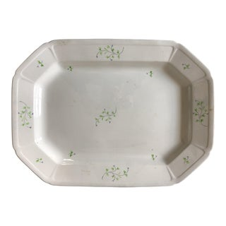 Antique WRS Co. Imperial Ironstone Platter