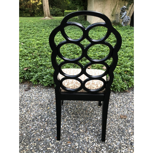 Vintage Frances Elkins Loop Dining Chairs - Set of 12 For Sale - Image 10 of 13