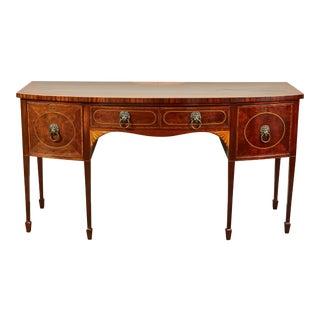 Early 19th Century Georgian Mahogany Sideboard For Sale