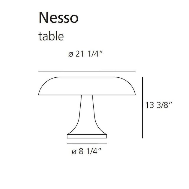Not Yet Made - Made To Order Giancarlo Mattioli 'Nesso' Table Lamp for Artemide For Sale - Image 5 of 7