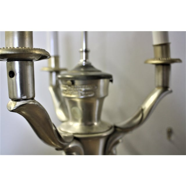 1940s Hollywood Regency Lamp Made by Colonial Premier Co. - Image 5 of 5