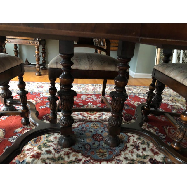Brown Berkey and Gay Dining Set For Sale - Image 8 of 12