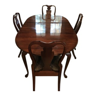 Pennsylvania House Cherry Dining Set For Sale