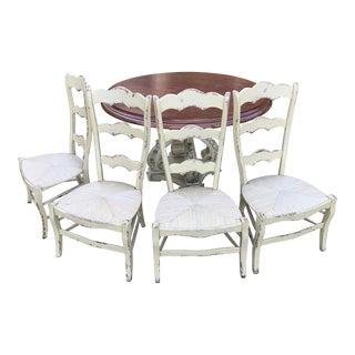 Habersham French Cottage Dining Room Set For Sale