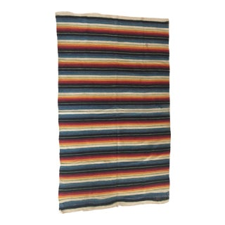 Vintage Multicolor Rug For Sale