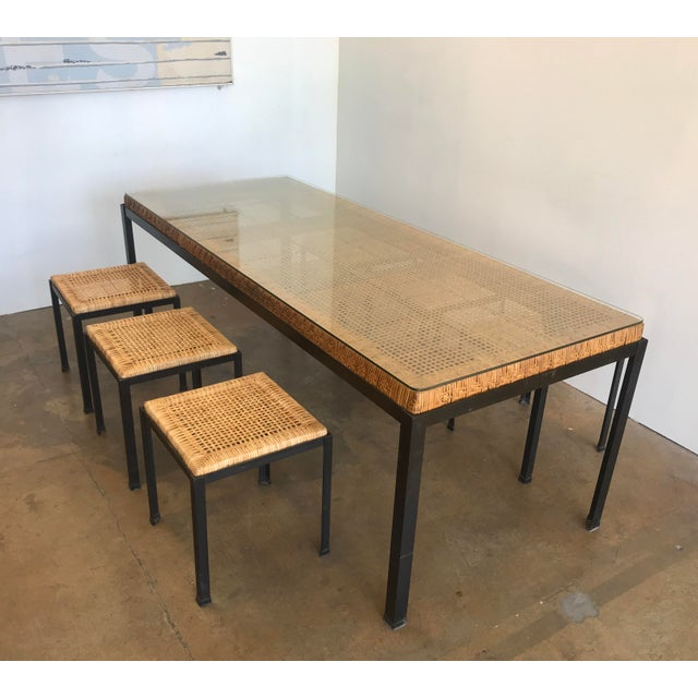 Mid-Century Modern Danny Ho Fong for Tropi-Cal Dining Set For Sale - Image 3 of 11
