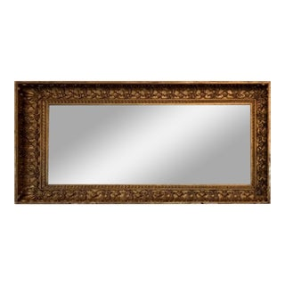 Antique 19th Century Neoclassical Giltwood Mirror For Sale