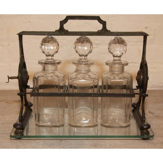 French Tantalus Decanter Set Preview