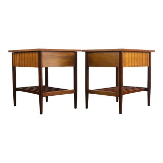 Set of Two (2) Richardson / Nemschoff End Tables For Sale
