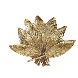 Brass Virginia Metalcrafters Sage Leaf For Sale