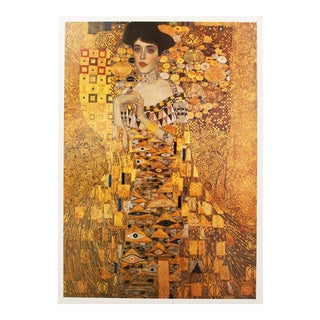 1994 Gustav Klimt Portrait of Adele Bloch-Bauer Poster For Sale
