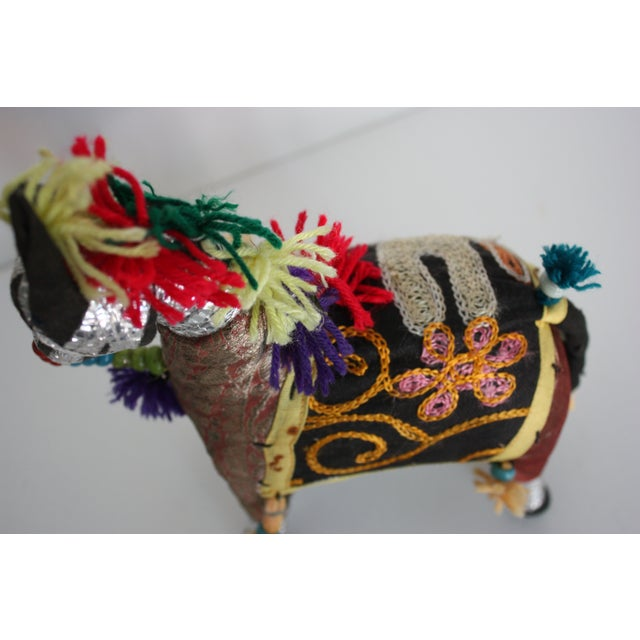 Bohemian Patchwork Horse - Image 3 of 4