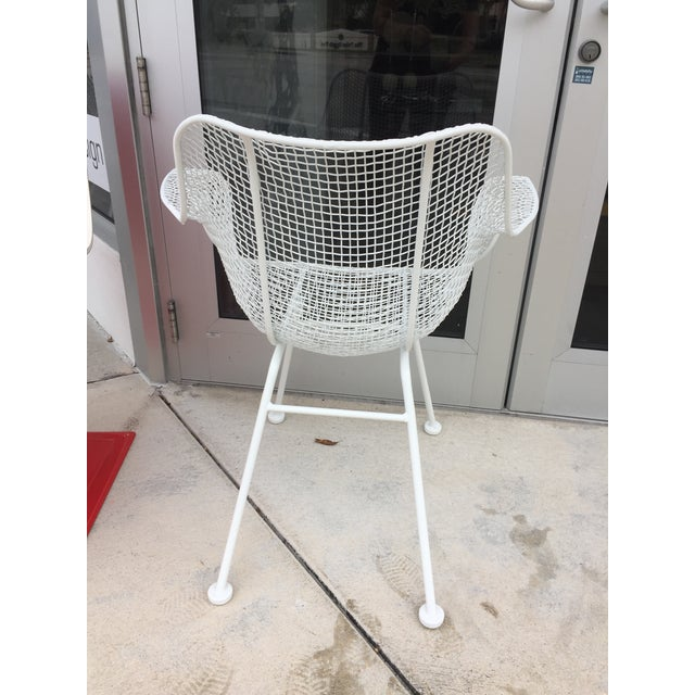 Woodard Sculptura Patio Dining Table and Chairs Set For Sale In West Palm - Image 6 of 13