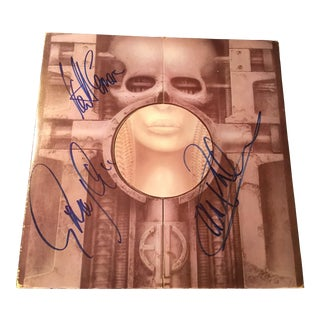 Emerson,Lake and Palmer 'Brain Salad Surgery' Autographed Album Cover For Sale