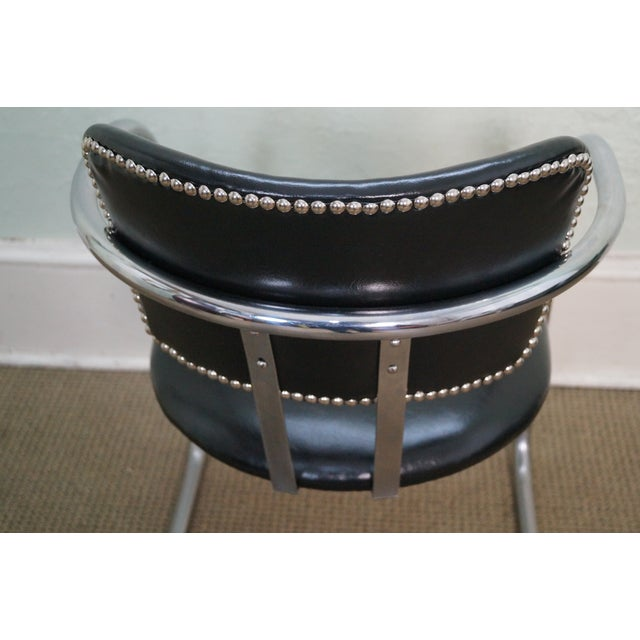 Chromecraft Vintage Mid Century Modern Arm Chair For Sale - Image 5 of 10