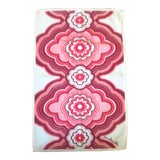 Image of 1990s Jonathan Adler Red Floral Pattern Placemat For Sale