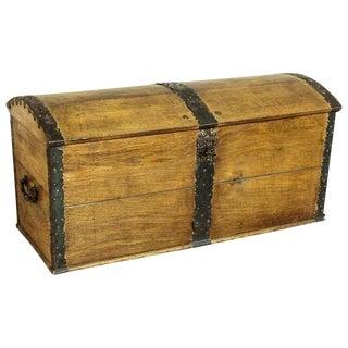 18th Century Oak Chest For Sale