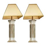 Image of 19th Century Italian Lamps - A Pair For Sale