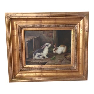 1990s Traditional Oil Painting For Sale