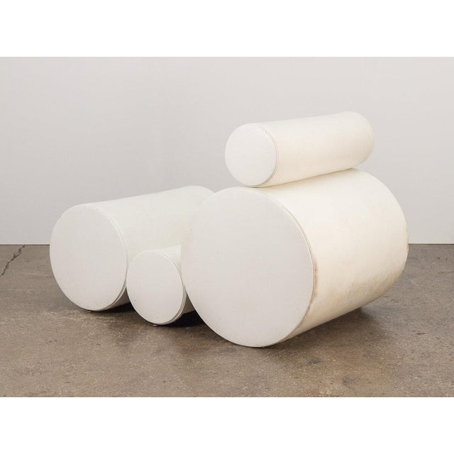 White Tubular Chair after Joe Colombo For Sale - Image 8 of 11