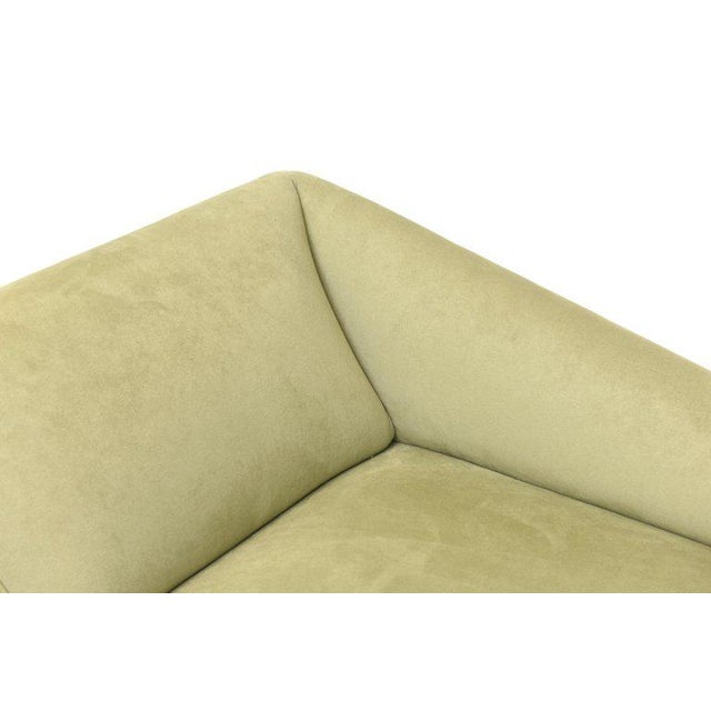 Haziza Lucite and Upholstered Sculptural Chaise Lounge / Settee For Sale In Miami - Image 6 of 10