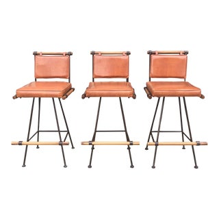 Bar Stools by Cleo Baldon for Terra Furniture of California For Sale