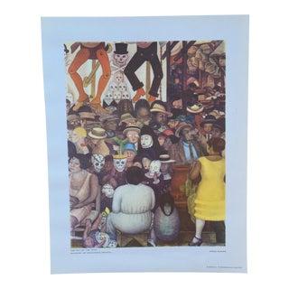 Rare 1946 Diego Rivera Lithograph