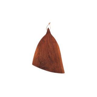 Sculptural Walnut Cutting Board by Dirk Rosse For Sale