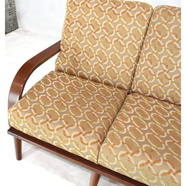Conant Ball Russel Right Solid Bent Maple Sofa For Sale - Image 10 of 13