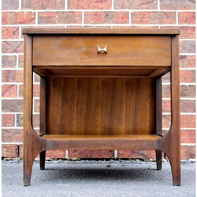 Broyhill Brasilia Nightstand or Side Table For Sale - Image 11 of 11