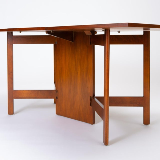 1950s Model 4656 Gateleg Table by George Nelson for Herman Miller For Sale - Image 5 of 13