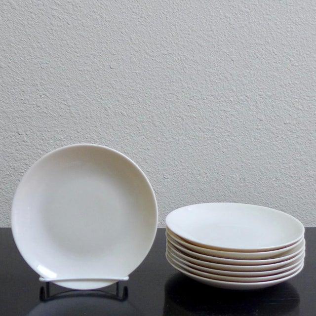 Eva Zeisel White Bread & Butter Plates - Set of 8 - Image 2 of 3