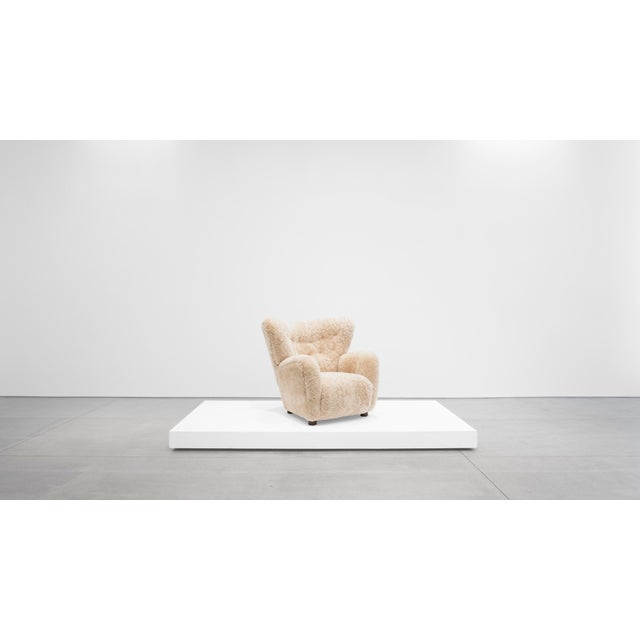 Mogens Lassen Attributed, Lounge Chair C. 1940 For Sale - Image 10 of 10
