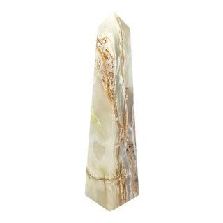 1960s Italian Onyx Obelisk For Sale