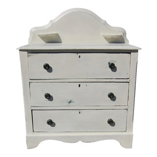 Antique Painted Small Chest of Drawers