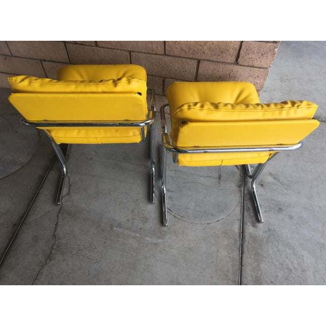 "Mid-Century Modern Vintage Mid Century Jerry Johnson ""Arcadia"" Chairs - a Pair For Sale - Image 3 of 6"