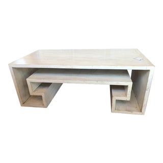 White Key Coffee Table For Sale