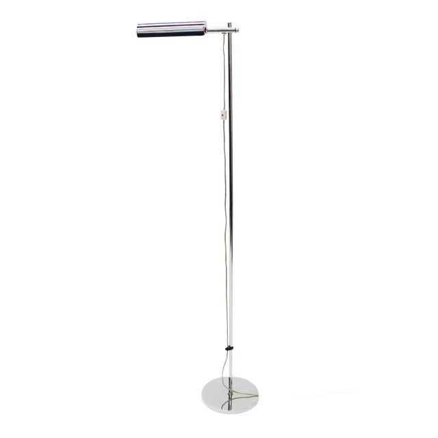 Koch & Lowy Mid-Century Modern Chrome Floor Lamp - Image 1 of 6