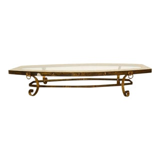Oval Coffee Table after Arturo Pani For Sale