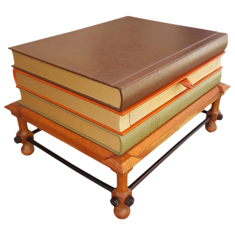 High Quality John Dickinson Stacked Books End Table   Image 1 Of 10