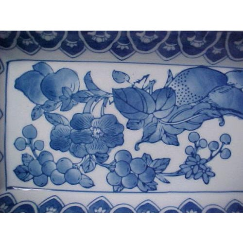 Asian Chinese Rectangular Serving Tray For Sale - Image 3 of 5