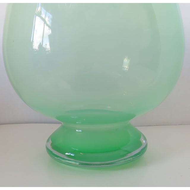 Large Blown Glass Vase For Sale In Los Angeles - Image 6 of 8